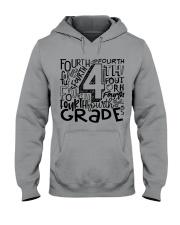 FOURTH GRADE TYPO Hooded Sweatshirt thumbnail
