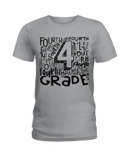 FOURTH GRADE TYPO Ladies T-Shirt thumbnail