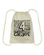 FOURTH GRADE TYPO Drawstring Bag thumbnail