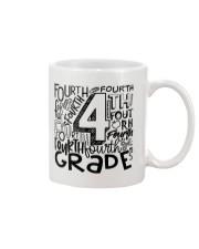 FOURTH GRADE TYPO Mug thumbnail