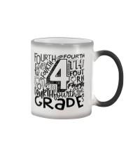 FOURTH GRADE TYPO Color Changing Mug thumbnail