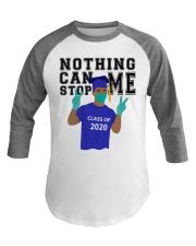 ROYAL BLUE - NOTHING CAN STOP ME Baseball Tee thumbnail