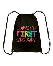 1ST GRADERS - I LOVE YOU Drawstring Bag thumbnail