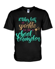SCHOOL COUNSELOR V-Neck T-Shirt thumbnail