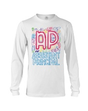 ASSISTANT PRINCIPAL TYPOGRAPHIC  Long Sleeve Tee thumbnail