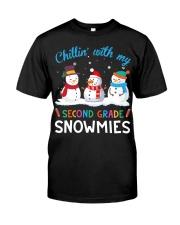 SECOND GRADE SNOWMIES Classic T-Shirt thumbnail
