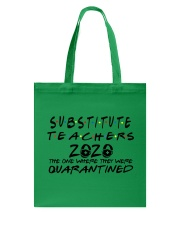 SUBSTITUTE 2020 Tote Bag thumbnail