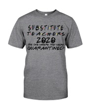 SUBSTITUTE 2020 Classic T-Shirt front