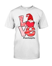 LUNCH LADY LIFE Classic T-Shirt front