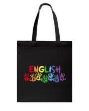 ENGLISH TEACHER DESIGN Tote Bag thumbnail