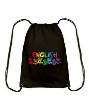 ENGLISH TEACHER DESIGN Drawstring Bag thumbnail