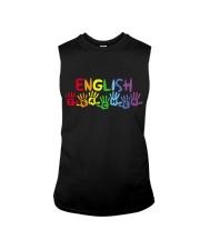 ENGLISH TEACHER DESIGN Sleeveless Tee thumbnail