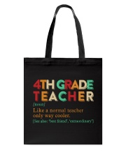 4TH GRADE TEACHER Tote Bag thumbnail