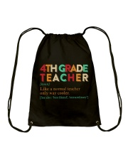4TH GRADE TEACHER Drawstring Bag thumbnail