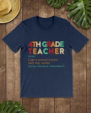 4TH GRADE TEACHER Classic T-Shirt lifestyle-mens-crewneck-front-18