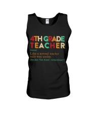 4TH GRADE TEACHER Unisex Tank thumbnail