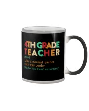4TH GRADE TEACHER Color Changing Mug thumbnail