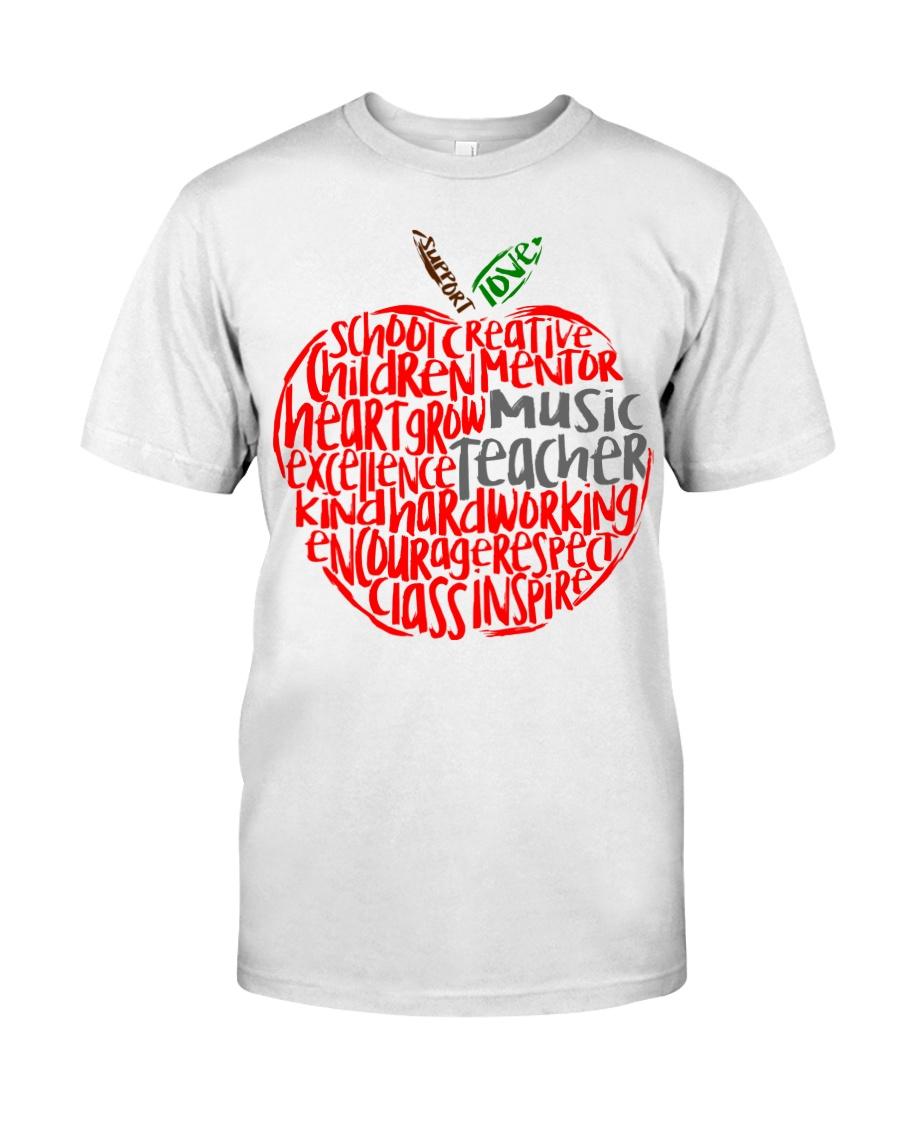 MUSIC APPLE Classic T-Shirt