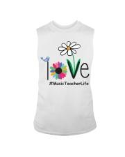 LOVE MUSIC TEACHER LIFE Sleeveless Tee thumbnail