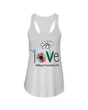 LOVE MUSIC TEACHER LIFE Ladies Flowy Tank thumbnail