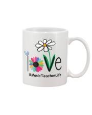 LOVE MUSIC TEACHER LIFE Mug thumbnail