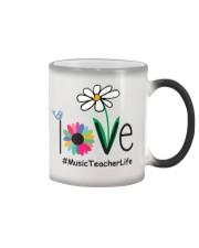 LOVE MUSIC TEACHER LIFE Color Changing Mug thumbnail
