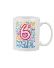 SIXTH GRADE TYPOGRAPHIC  Mug thumbnail