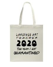 LANGUAGE ART Tote Bag thumbnail