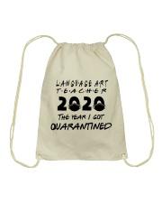 LANGUAGE ART Drawstring Bag thumbnail