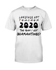 LANGUAGE ART Classic T-Shirt front