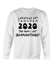 LANGUAGE ART Crewneck Sweatshirt thumbnail