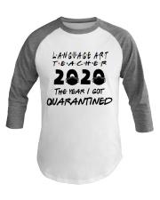LANGUAGE ART Baseball Tee thumbnail