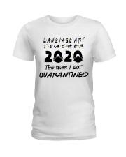 LANGUAGE ART Ladies T-Shirt thumbnail