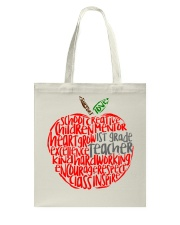 1ST GRADE APPLE Tote Bag thumbnail