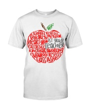 1ST GRADE APPLE Classic T-Shirt front