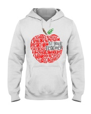 1ST GRADE APPLE Hooded Sweatshirt thumbnail