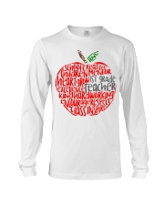 1ST GRADE APPLE Long Sleeve Tee thumbnail