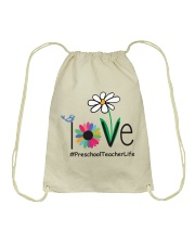 PRESCHOOL TEACHER LIFE Drawstring Bag thumbnail