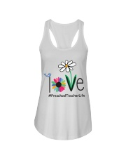 PRESCHOOL TEACHER LIFE Ladies Flowy Tank thumbnail