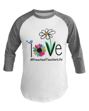 PRESCHOOL TEACHER LIFE Baseball Tee thumbnail