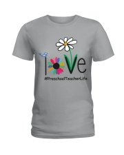 PRESCHOOL TEACHER LIFE Ladies T-Shirt front