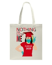 RED - NOTHING CAN STOP ME Tote Bag thumbnail