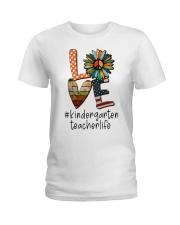 KINDERGARTEN TEACHER Ladies T-Shirt thumbnail