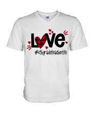 4TH GRADE LIFE V-Neck T-Shirt thumbnail
