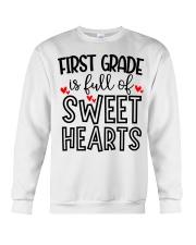 1ST GRADE HEART Crewneck Sweatshirt thumbnail