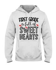 1ST GRADE HEART Hooded Sweatshirt thumbnail