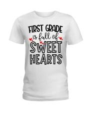1ST GRADE HEART Ladies T-Shirt thumbnail