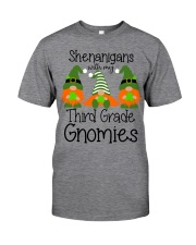 SHENANIGANS 3RD GRADE Classic T-Shirt front