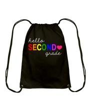 HELLO SECOND GRADE Drawstring Bag thumbnail