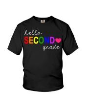 HELLO SECOND GRADE Youth T-Shirt thumbnail